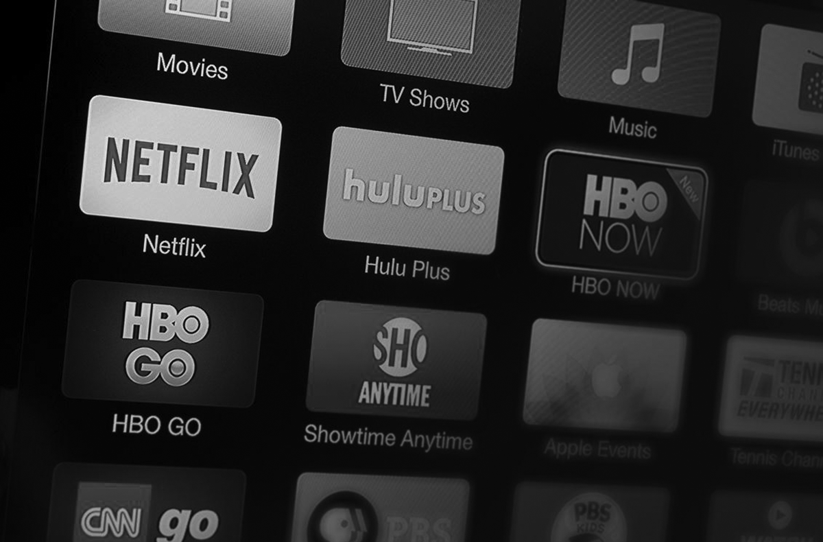 Streaming services on the rise