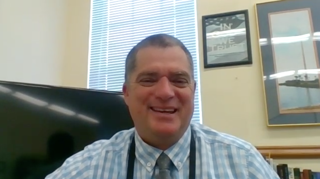 Exclusive interview with superintendent Tim Forson- desk dividers gone next year?